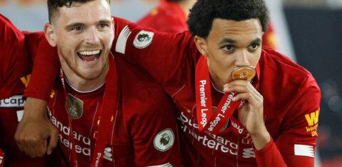Inglismaa meistriliiga parimaks noormängijaks valiti Liverpooli jalgpallur