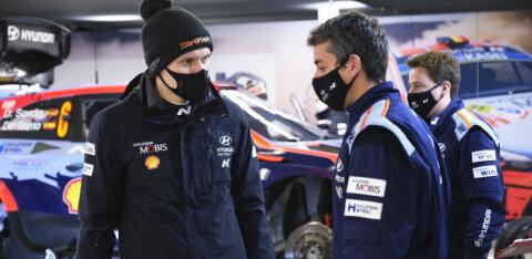 BLOGI JA VIDEO | Kahe katse jooksul kaks rehvi lõhkunud Ott Tänak pidi Monte Carlo ralli katkestama