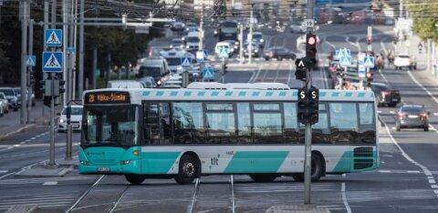 МуПо будет следить за использованием масок в таллиннском общественном транспорте