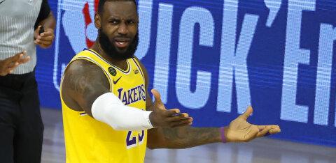 VIDEO | Lakers pidas hooaja halvima mängu, Celtics korraldas viskekontserdi