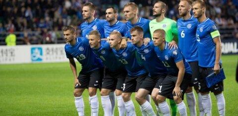 Eesti koondis tähistab juubelit Soome finaalturniirile saatmisega