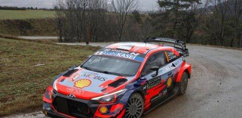 ФОТО: Тянак выиграл два стартовых заезда в Монте-Карло