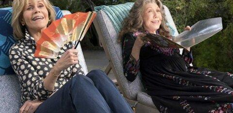 ARVUSTUS | Kas Thelma ja Louise? Või siiski Grace ja Frankie? Väärikad diivad astuvad lahingusse geidest abikaasade vastu