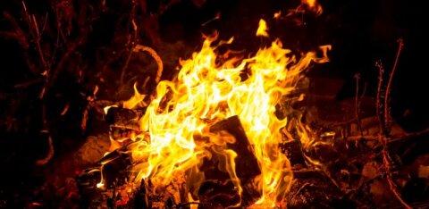В Тапа женщина получила ожоги: взорвался мусор, который она сжигала