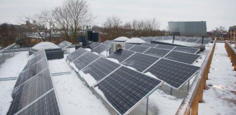 В Нарве рассматривают проект строительства солнечной электростанции