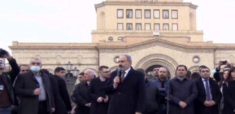 Что происходит в Армении: оппозиция ставит палатки, Пашинян призывает расходиться