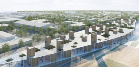ФОТО | Cмотрите, как может выглядеть новый жилой район у товарной станции Копли