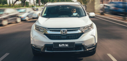 "Honda CR-V Hybrid: pingevaba ""elektriauto"""