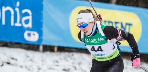 Эстонские биатлонисты выступят в спринтерских гонках Кубка мира