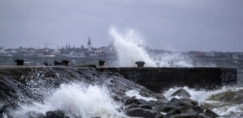 Ветер и тучи готовятся к новому штурму Эстонии
