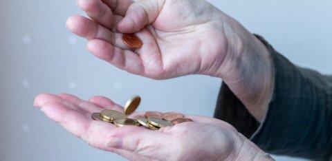 ГРАФИК | Неужели эстонские пенсионеры самые бедные в мире? Процент относительно бедных выше, чем в России и Индии