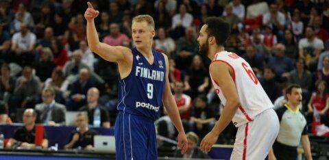 Soome korvpallikoondis pääses napilt suurest hävingust