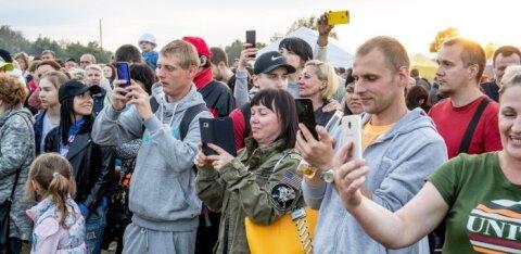 ФОТО DELFI: Праздник удался! Смотрите, как встретили Яанову ночь в Ласнамяэ