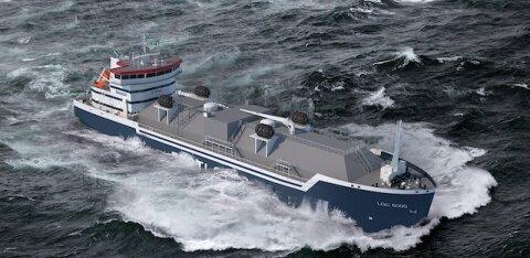 Началось строительство бункеровочного судна LNG компании Eesti Gaas