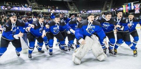 Назван состав сборной Эстонии на молодежный чемпионат мира по хоккею