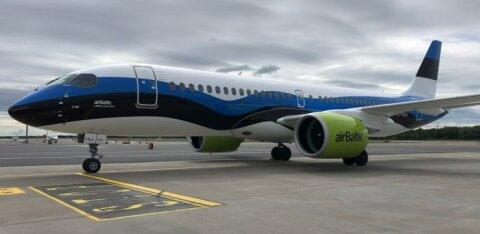Авиакомпания airBaltic увеличит количество рейсов из Таллинна в Ригу и Вильнюс