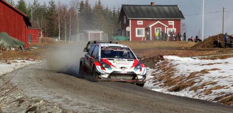 VIDEO | Rally Estoniaks valmistuv Sebastien Ogier andis kuuma Soome kiiretel teedel