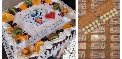 FOTOD | Vaata, kuidas peavad haiglatöötajaid meeles Eesti restoranid, kohvikud, pagarikojad ja toiduainetootjad