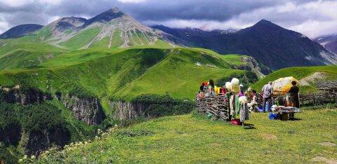 Gruusia: vein, kaunid mäeahelikud ja tohutud krüptokaevandused