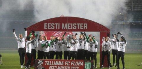 Positiivne koroonaproov FC Floras. Superkarika finaal lükkub edasi
