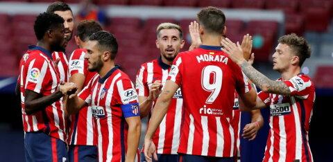Meeskonnast kaks koroonapositiivset avastanud Madridi Atletico reisib siiski Portugali