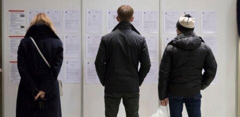 Koroonakriisist on enim saanud räsida Tallinna tööturg