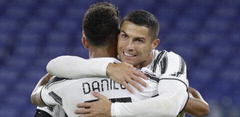 Cristiano Ronaldo väravad päästsid Juventuse kaotusest