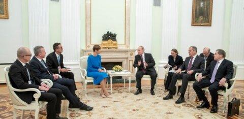 Kuido Säde: Kaljulaid käis Moskvas eksamil
