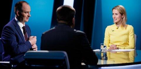 FOTOD   Kaja Kallas Jüri Ratasele: pidevalt maksudebatist rääkimine ei ole veel maksudebatt