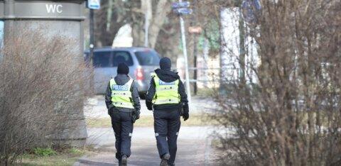 Полиция: передвижение между местами проживания на материке и островах Западной Эстонии не разрешено