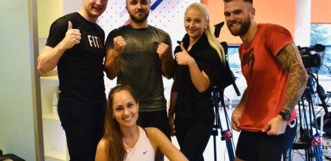 Gerd Kanter avas koos Spordinädala treeningmaratoniga uue treeningportaali FitQ