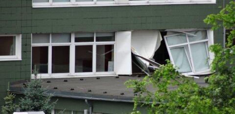 ФОТО | В Таллиннской гимназии Лиллекюла произошел взрыв