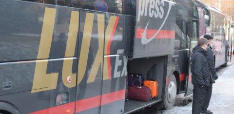 Жительницу Силламяэ сначала расстроил не работавший в автобусе Lux Ekspress кофейный аппарат, а потом возмутили ответы фирмы на ее претензии