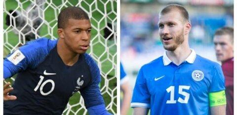 Сколько стоят самые дорогие футболисты Эстонии и мира в эпоху пандемии?