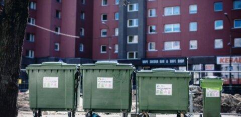 Вывоз мусора в Таллинне проходит по стандартному расписанию