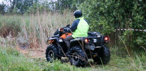 В Раазику мужчина на квадроцикле разбился насмерть