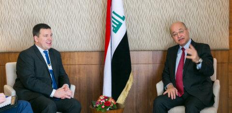 Ратас: Эстония готова помогать Ираку строить свою систему безопасности