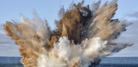 FOTOD | Mereväelased lõhkasid Saaremaa lähistel ohtliku torpeedokaatri