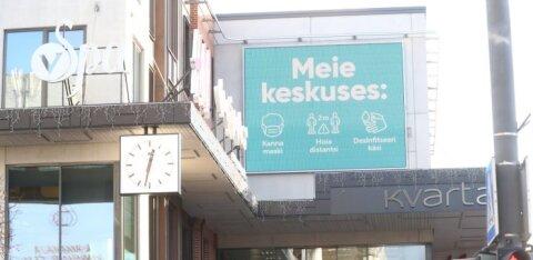 ГРАФИК | Вспышка коронавируса: в Эстонии показатели движутся в противоположную сторону по сравнению с соседями