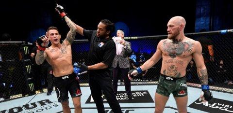 Staatus maksab: võidukas Dustin Poirier teenis Conor McGregorist 25 korda vähem