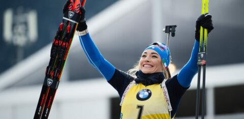 Доротея Вирер выиграла золото в гонке преследования. Лучшая из эстонок — в конце пятого десятка