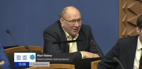 VIDEO | Vaata, millise ebatavalise komplimendi tegi Mart Helme peaminister Kaja Kallasele
