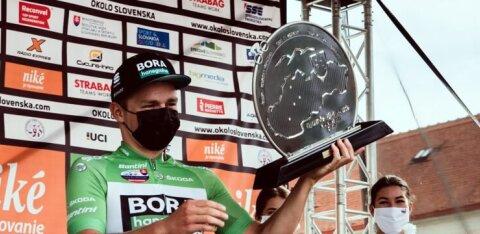 Martin Laas pääses Slovakkia velotuuril taas poodiumile ja sai preemiaks rohelise särgi