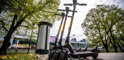FOTOD | Konkurents kogub tuure! Tallinnas tõi oma tõukerattad tänavale veel üks uus pakkuja