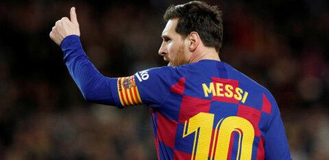 Klubi kinnitab: Lionel Messi sai treeningul vigastada