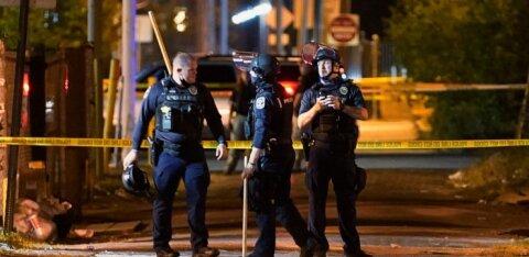 Во время протестов в США ранены двое полицейских