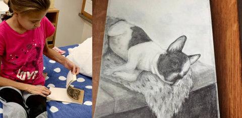 Поможем Катерине выздороветь! Страдающая от тяжелого заболевания девушка выставила на аукцион свою картину