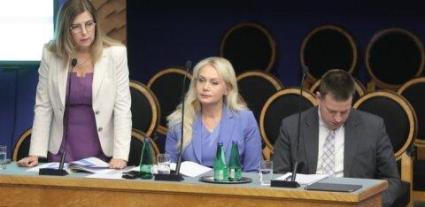 Керт Кинго впервые ответила на вопросы на инфочасе Рийгикогу. Чем она занимается на посту министра внешней торговли и ИТ?