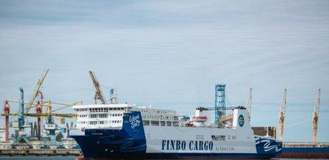 Объем грузов, проходящих через Таллиннский порт, снизился