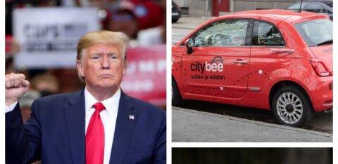 ERISAADE | Trumpi oht Eestile, mõttetu autojagamine Tallinnas, seadused raha eest